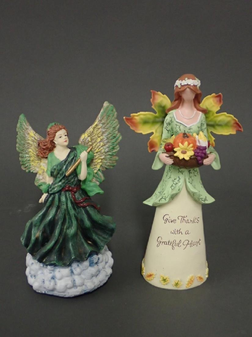 Grouping of Putti/Angel Figurines - 8