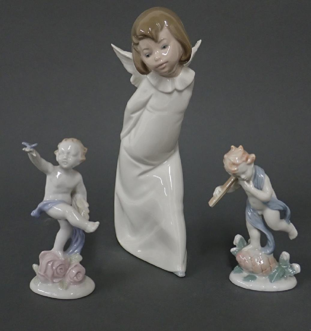 Grouping of Putti/Angel Figurines - 9