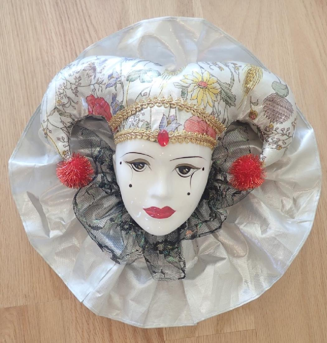 Collection of Venetian Style Masks & Dolls - 11