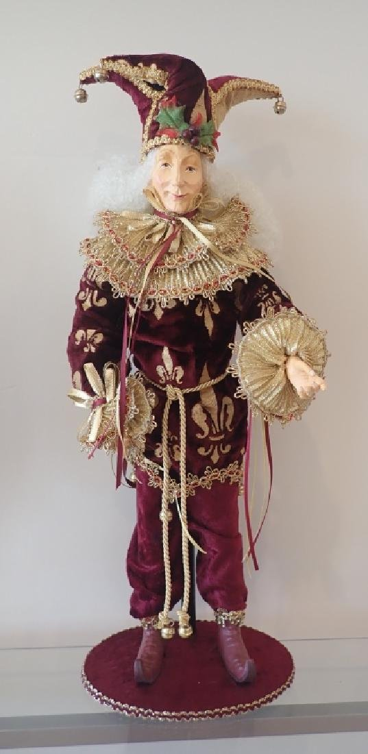 Collection of Venetian Style Masks & Dolls - 3