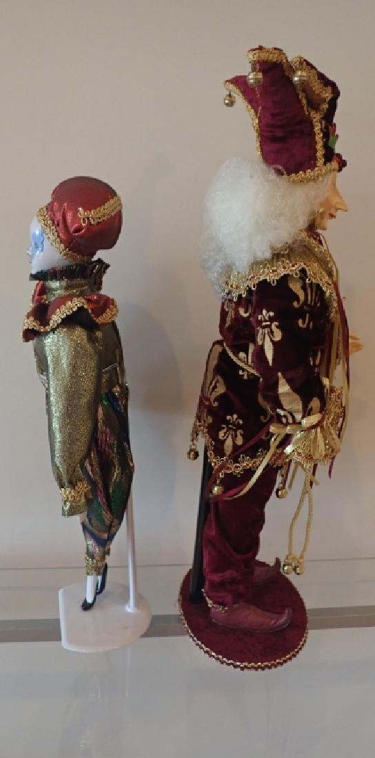 Collection of Venetian Style Masks & Dolls - 4