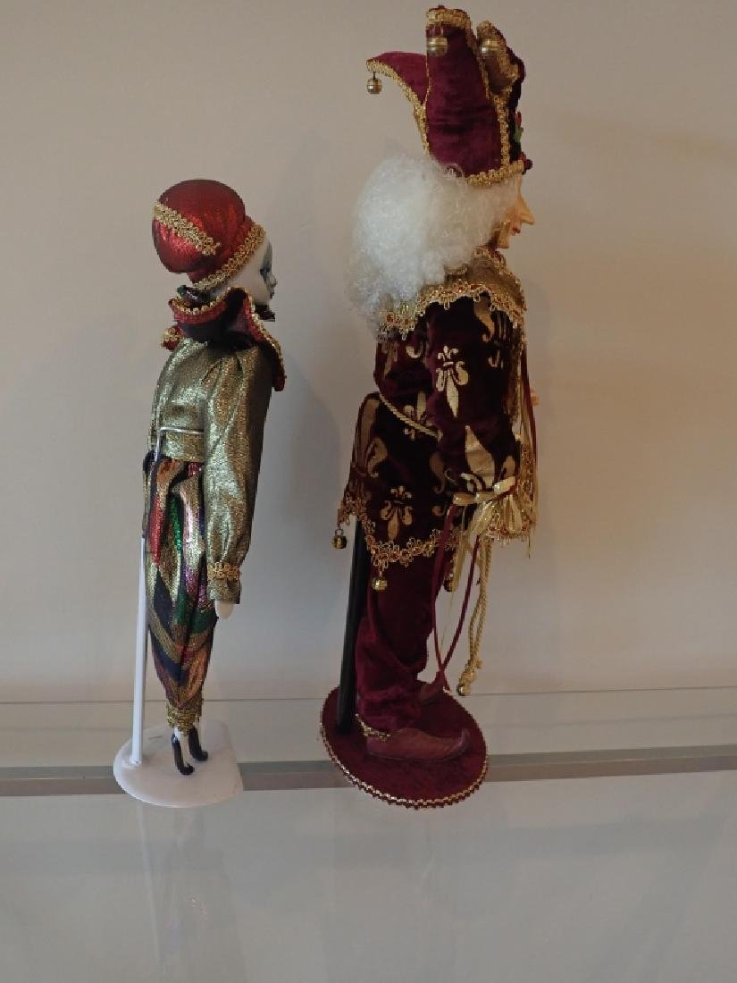 Collection of Venetian Style Masks & Dolls - 5