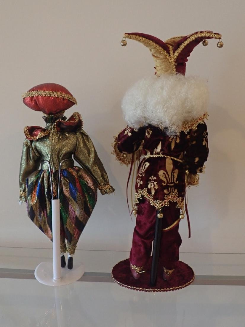 Collection of Venetian Style Masks & Dolls - 6