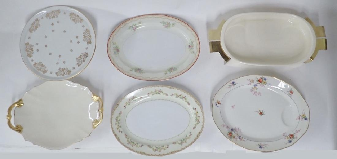 Vintage Platters and Serving Trays