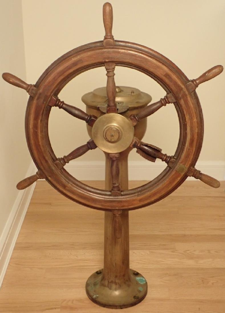 Antique Williamson Bros. Co. Ship's Wheel