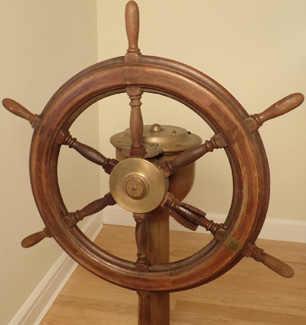 Antique Williamson Bros. Co. Ship's Wheel - 2