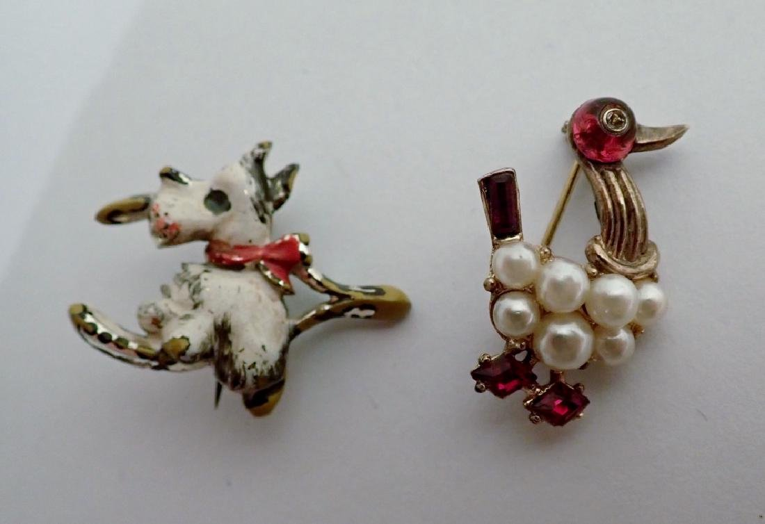 Vintage Animal Enamel Brooch Collection - 10
