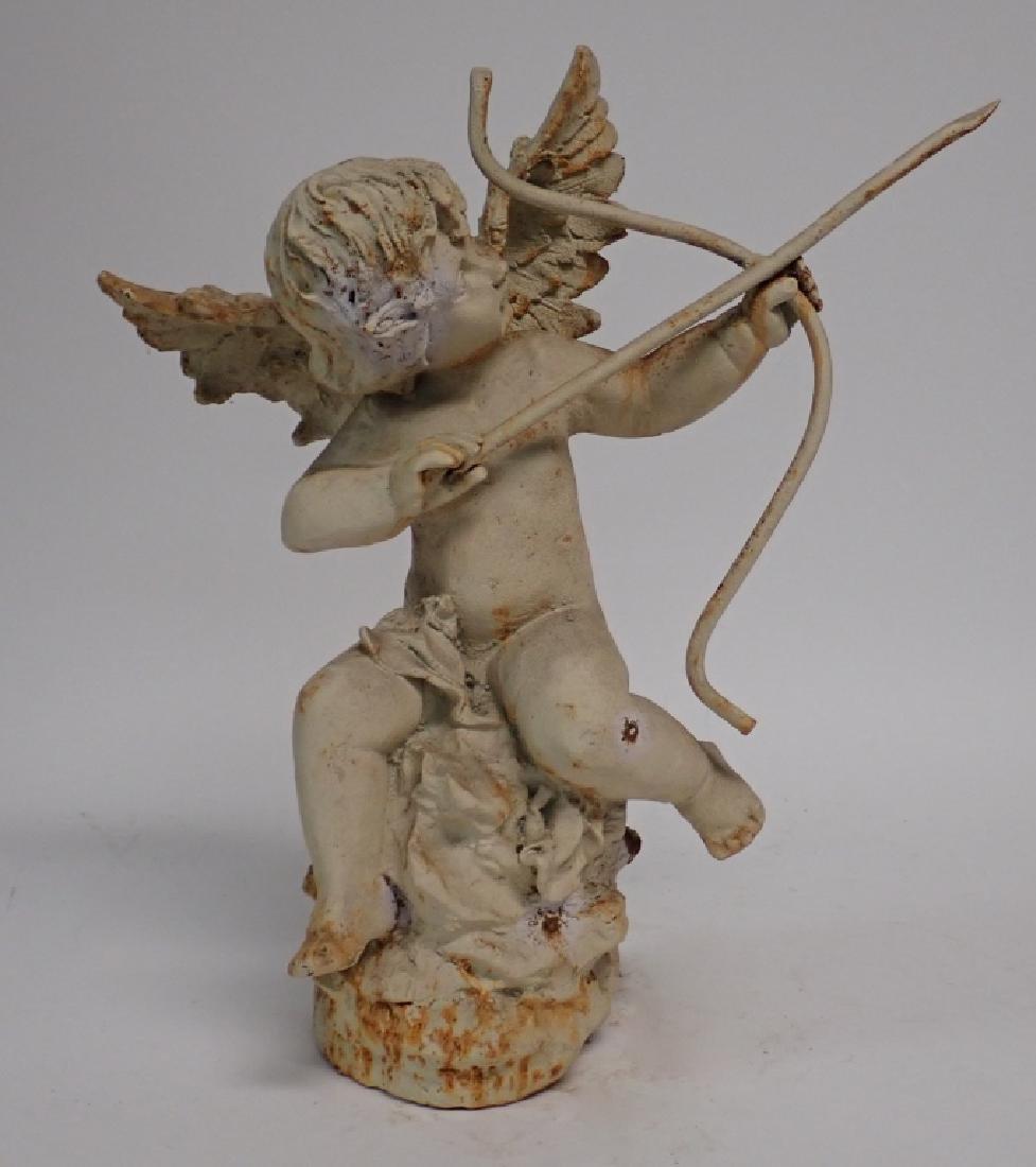 Iron Angel Statue - 2