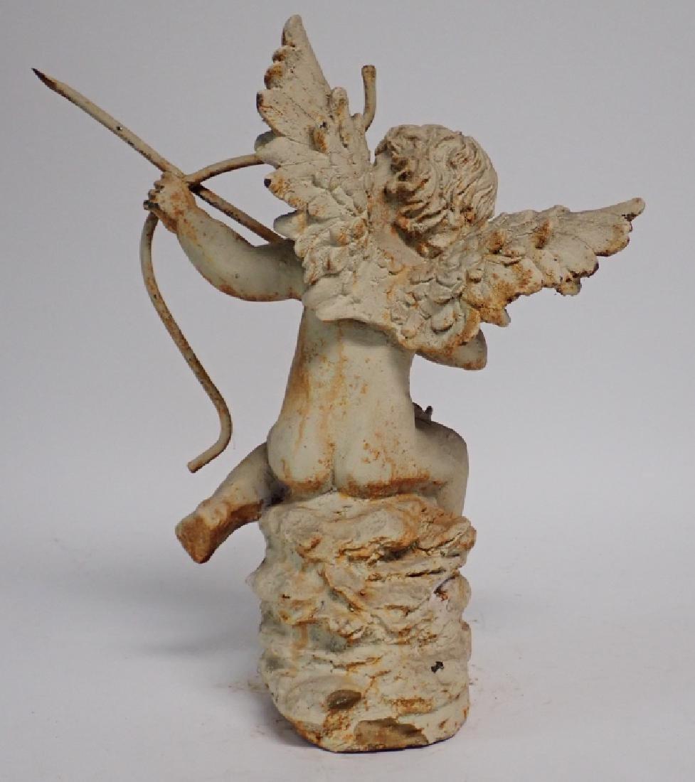 Iron Angel Statue - 4