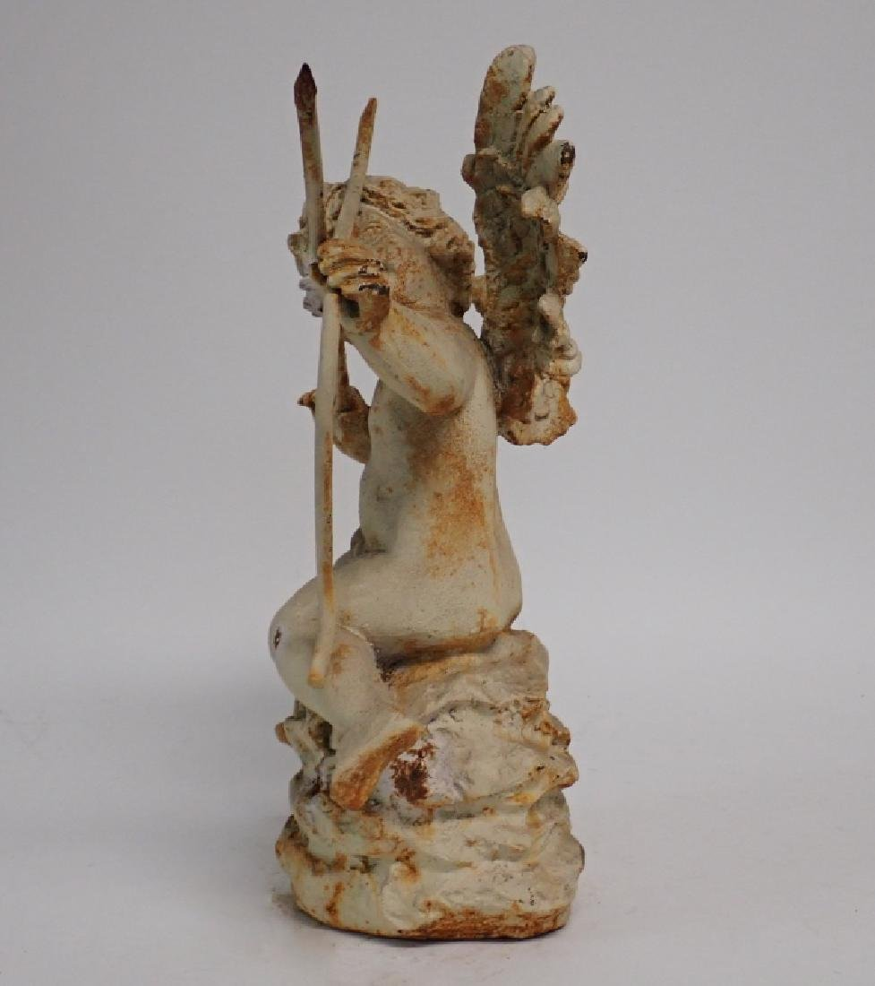 Iron Angel Statue - 5