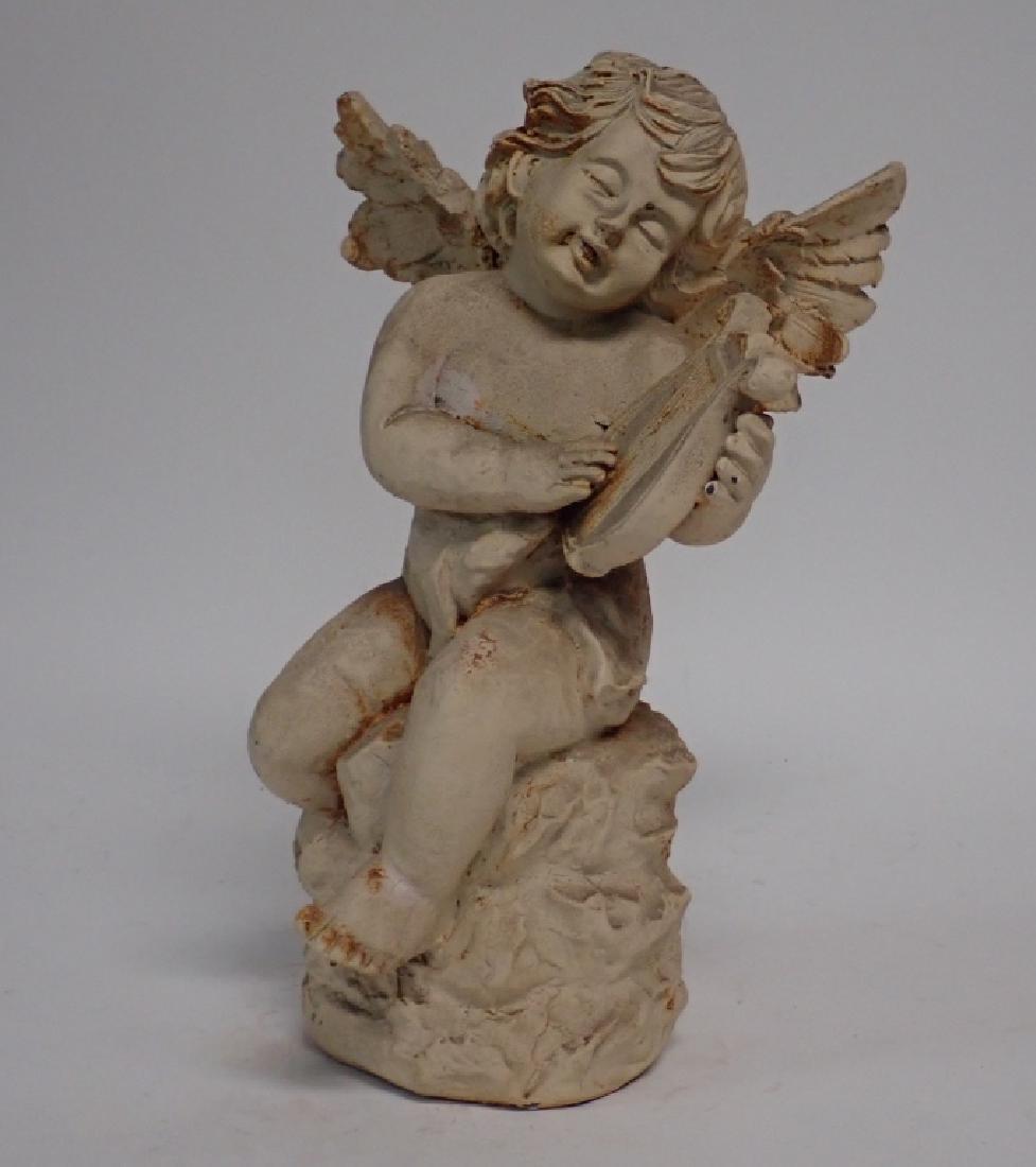 Iron Angel Sculpture