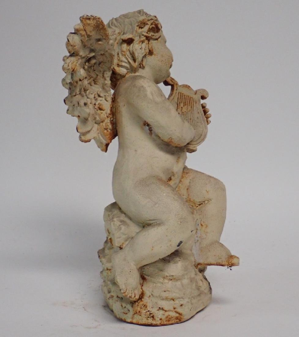 Iron Angel Sculpture - 2