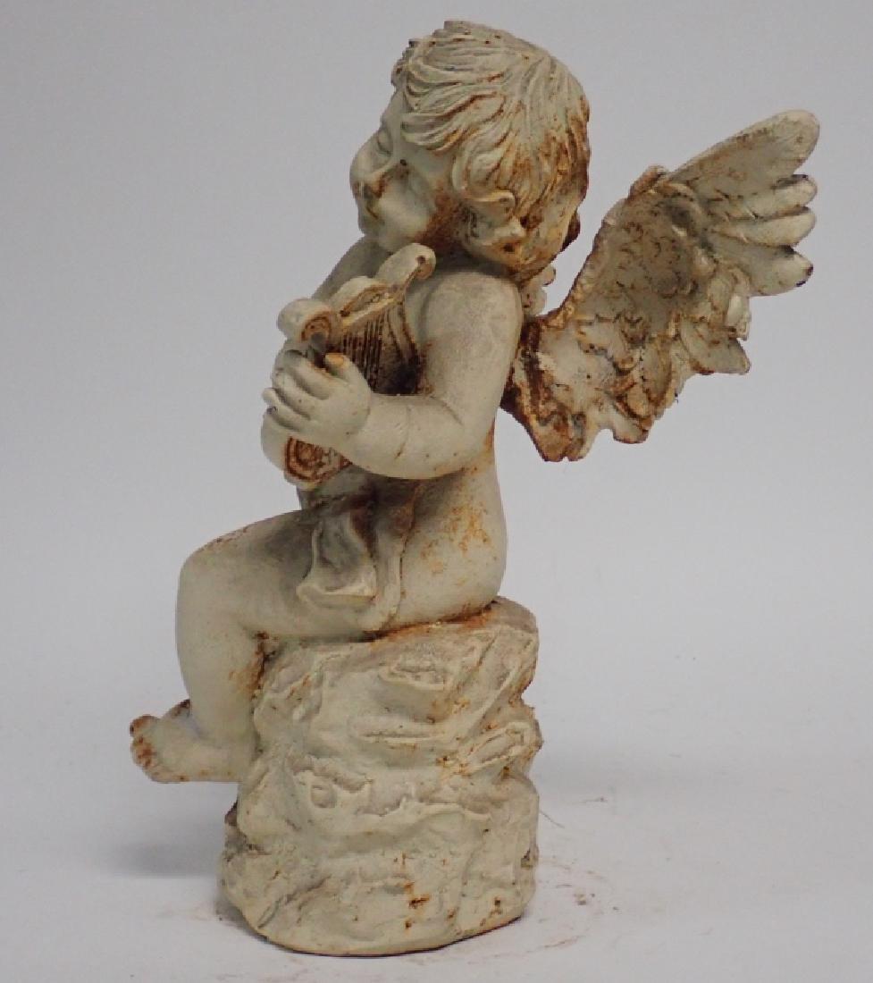 Iron Angel Sculpture - 4