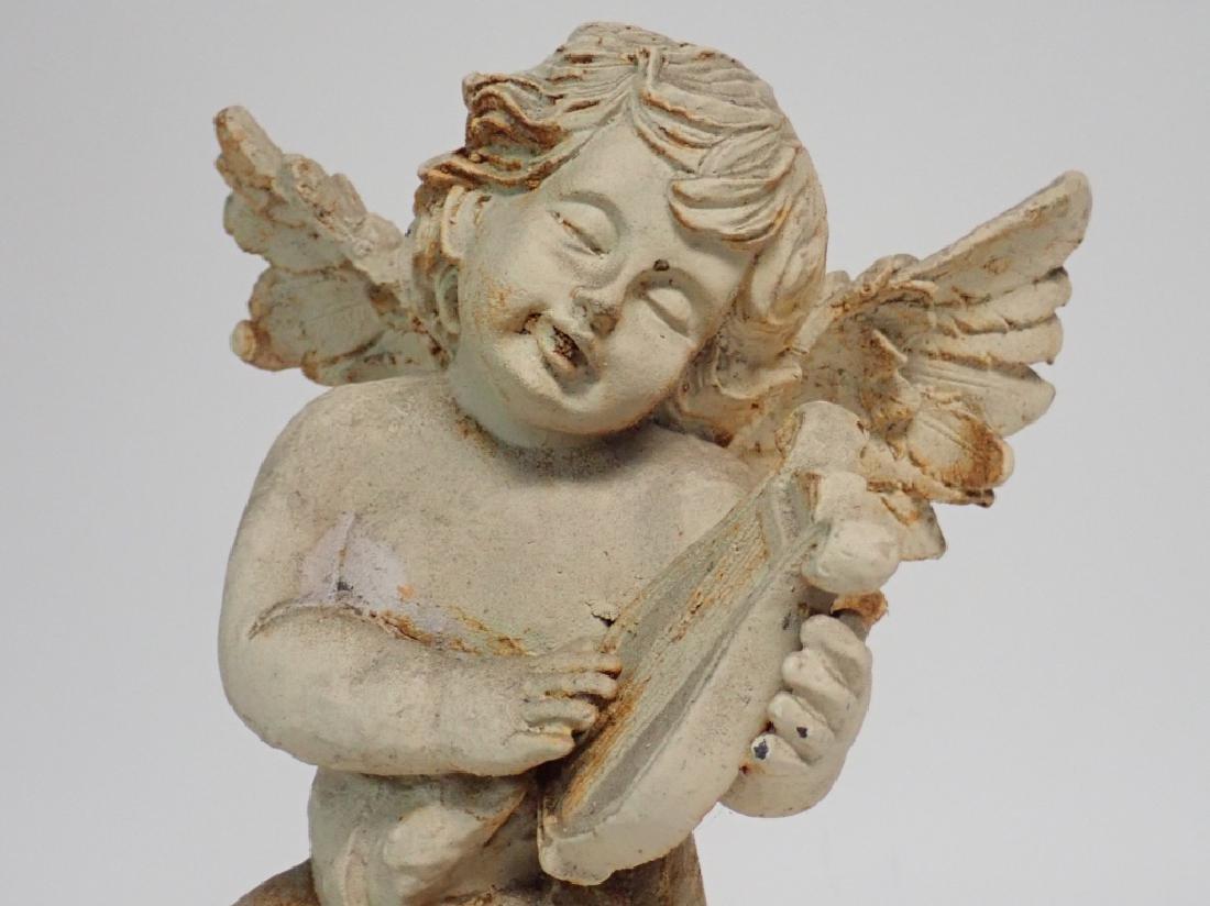 Iron Angel Sculpture - 5