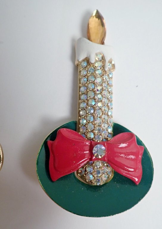 Vintage Christmas Brooch Collection - Kramer, Hedy - 6