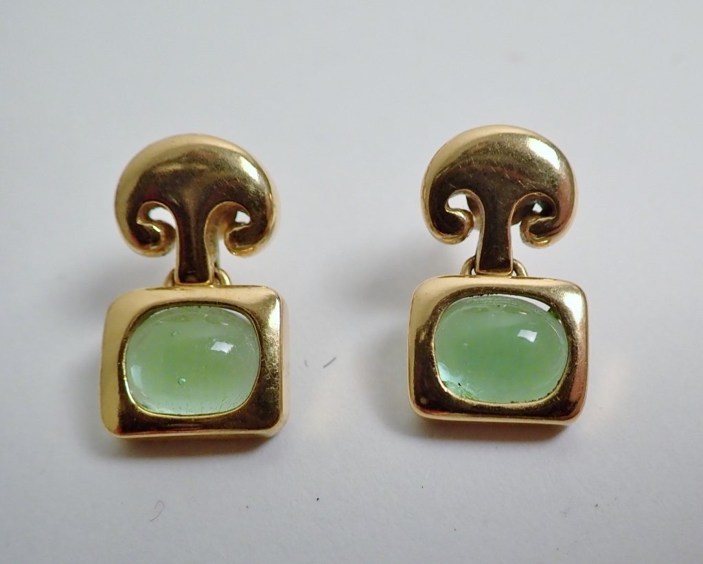 Collection of Signed Vintage Clip-On Earrings - 2