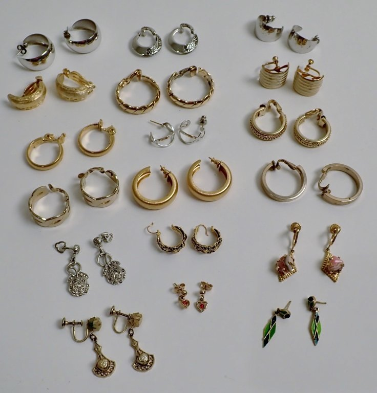 Collection of Fashion Earrings