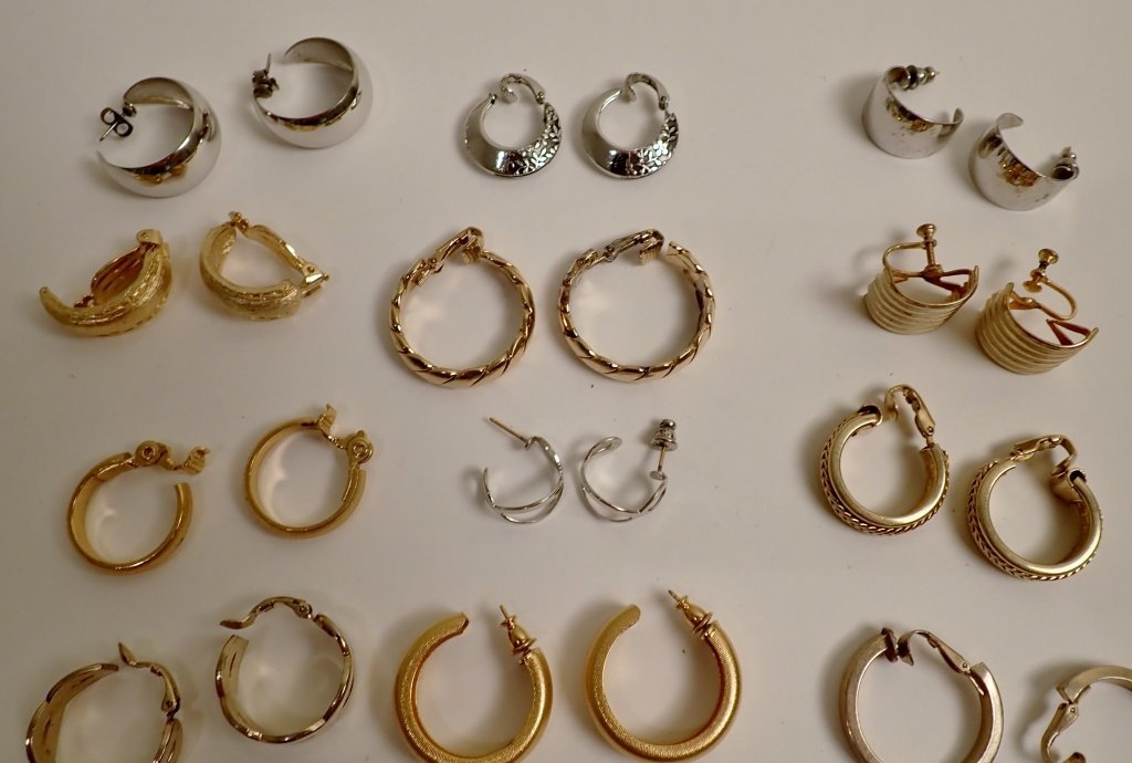 Collection of Fashion Earrings - 2