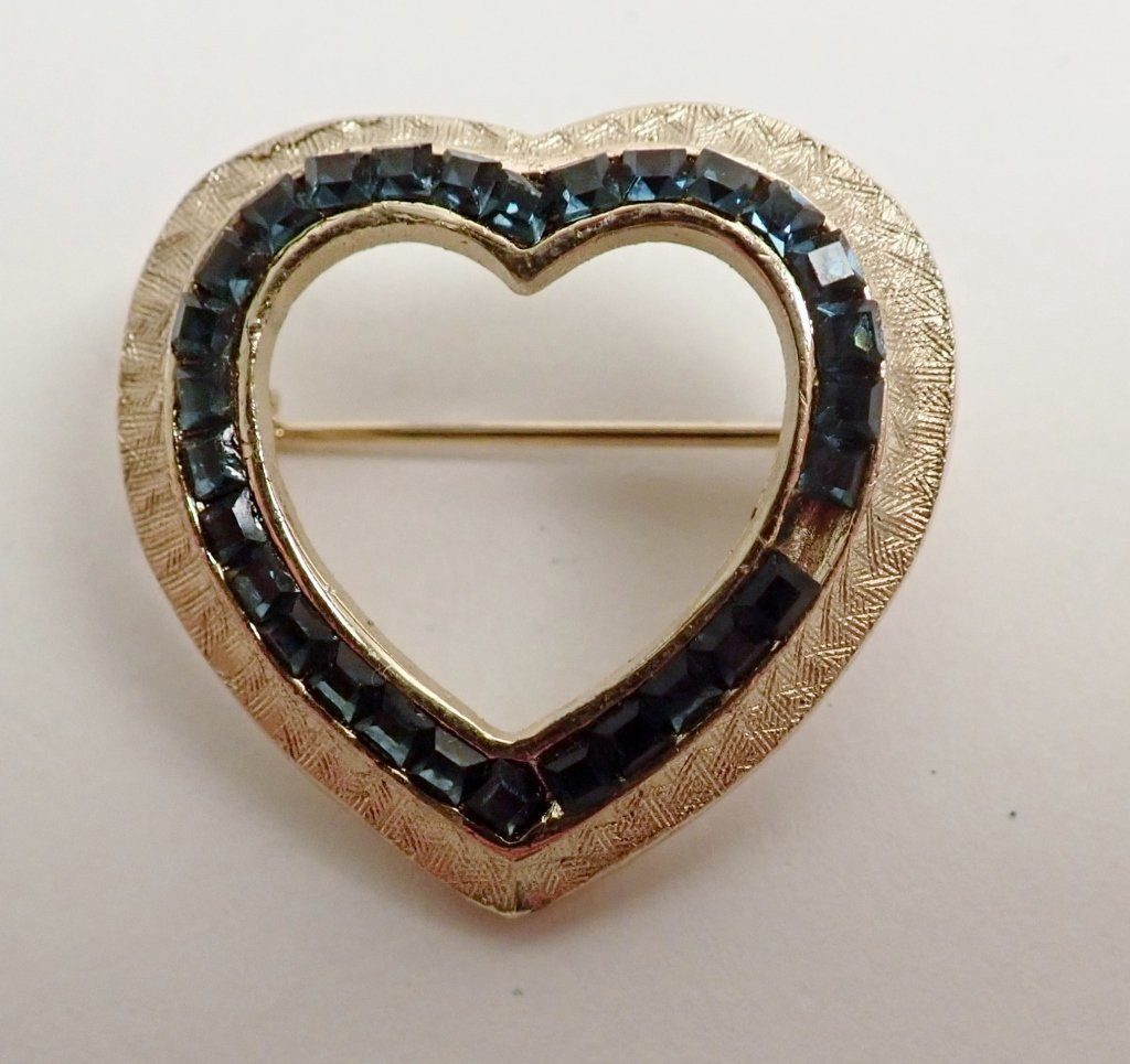Three Signed Vintage Brooches - 3