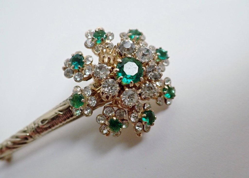 Three Signed Vintage Brooches - 9