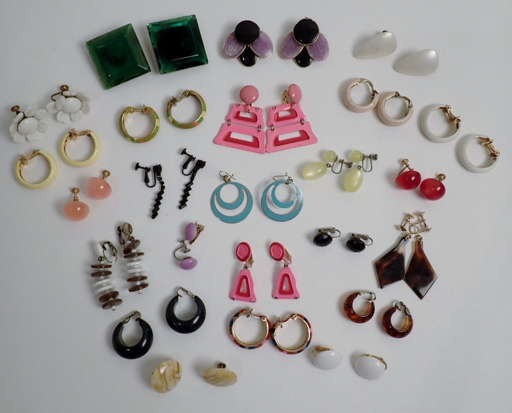 Vintage Modern Earring Assortment