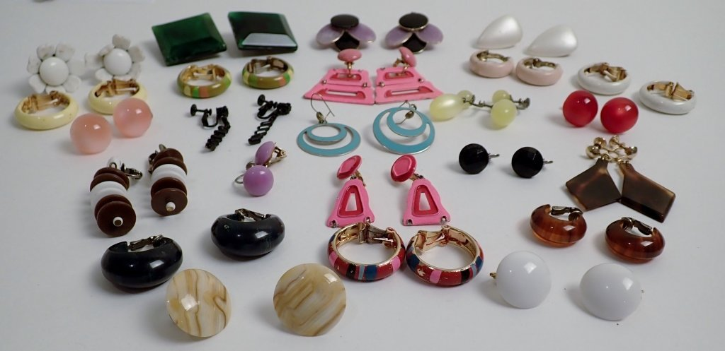 Vintage Modern Earring Assortment - 2