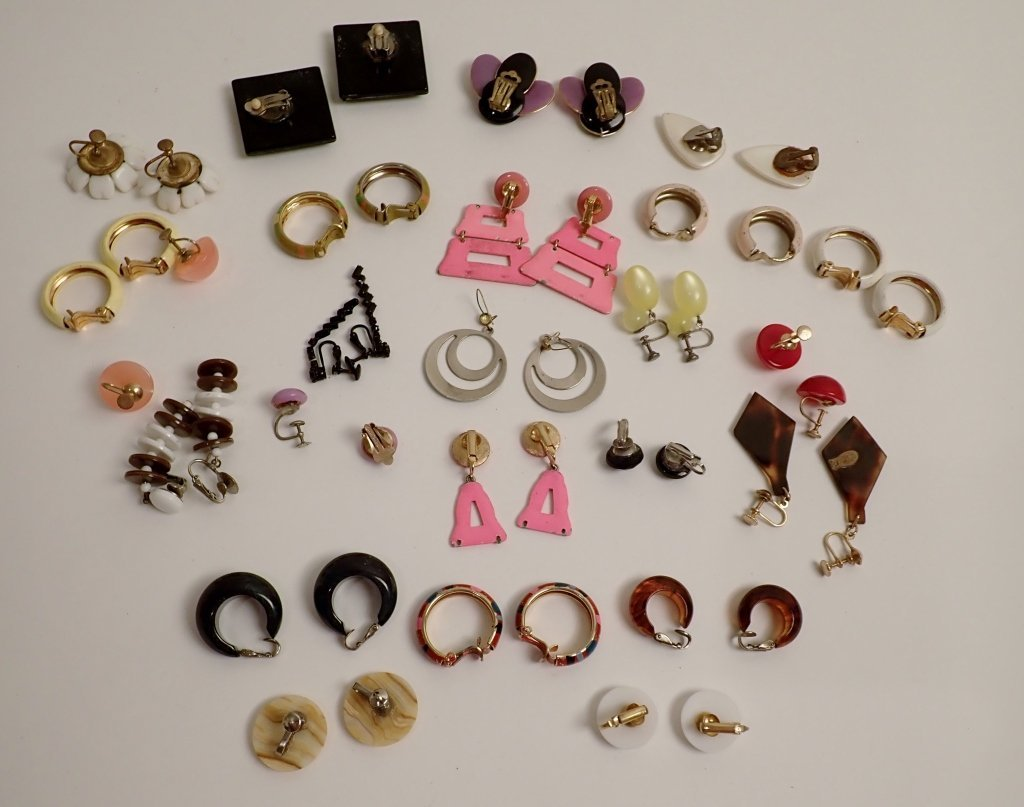 Vintage Modern Earring Assortment - 5