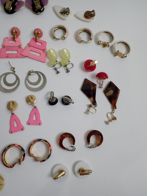 Vintage Modern Earring Assortment - 8