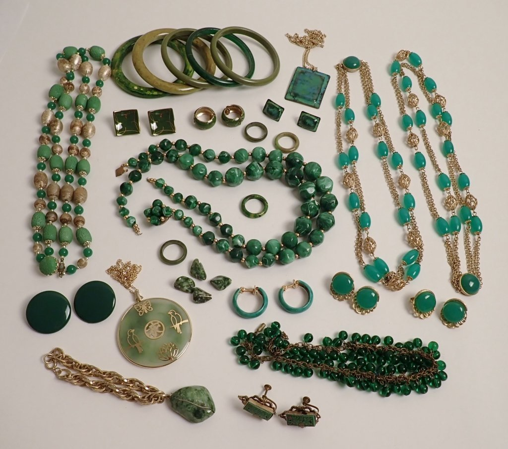 Assortment of Vintage Fashion Jewelry