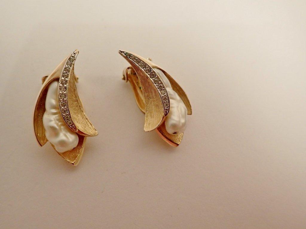 Vintage Kramer Fashion Earring Assortment - 10