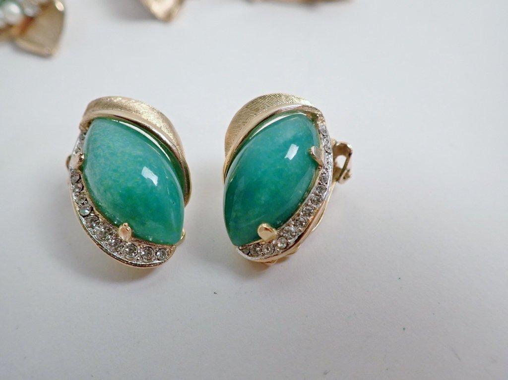 Vintage Kramer Fashion Earring Assortment - 4