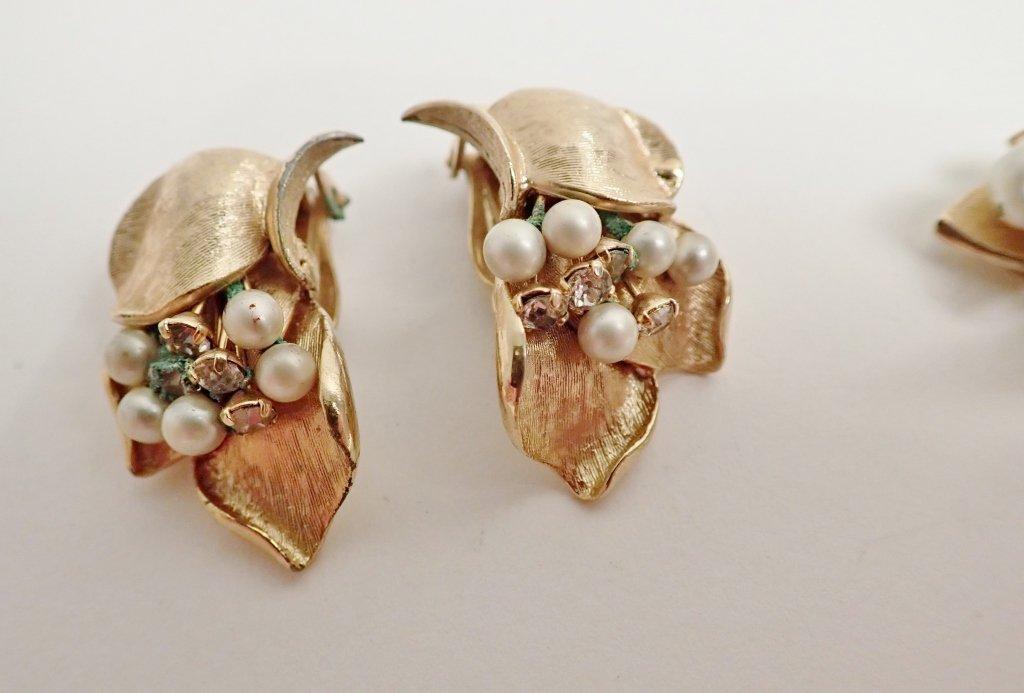 Vintage Kramer Fashion Earring Assortment - 8