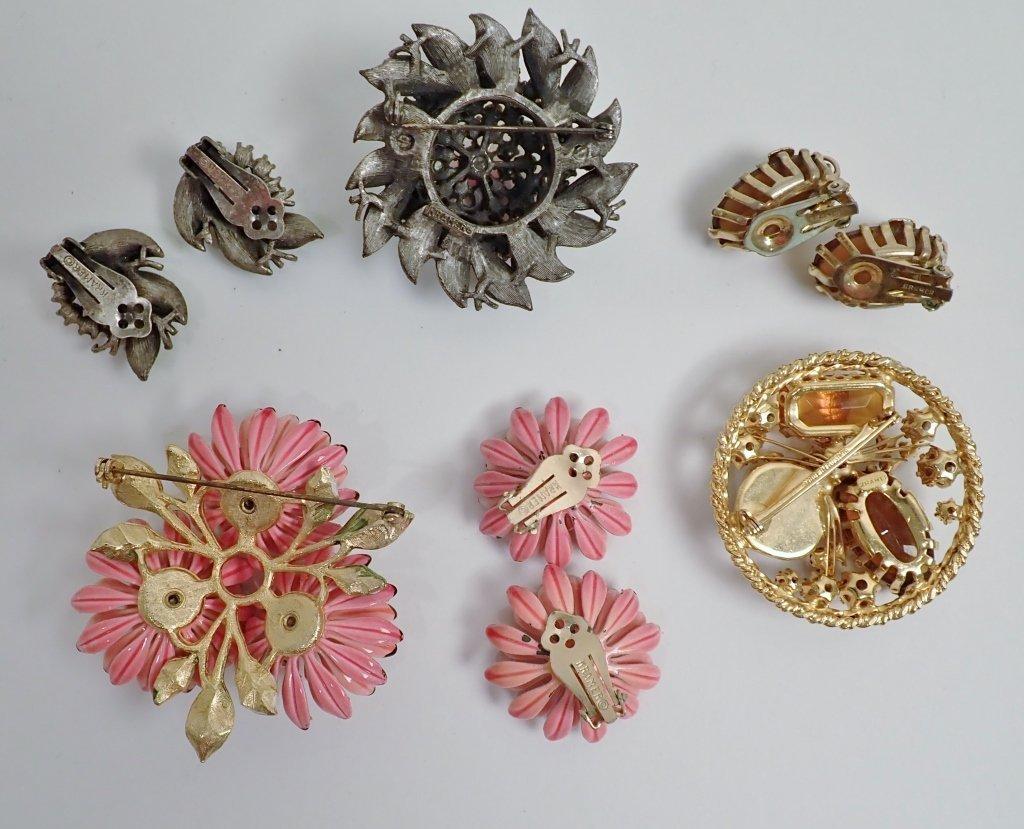 Signed Vintage Kramer Jewelry Sets - 8