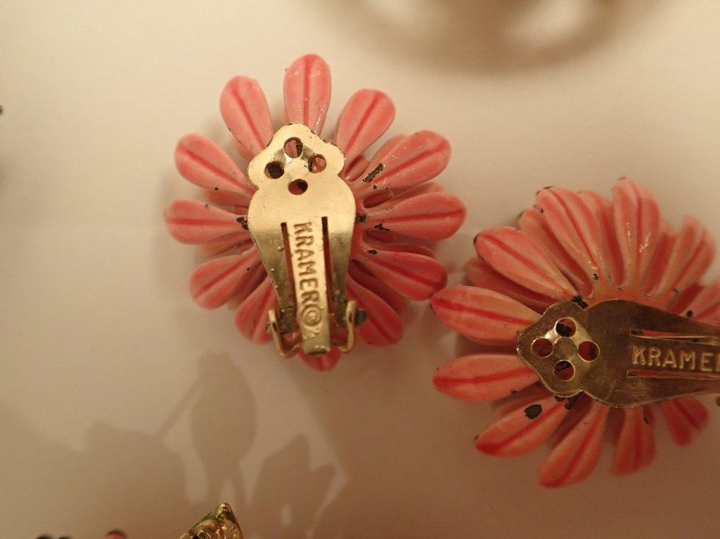 Signed Vintage Kramer Jewelry Sets - 9