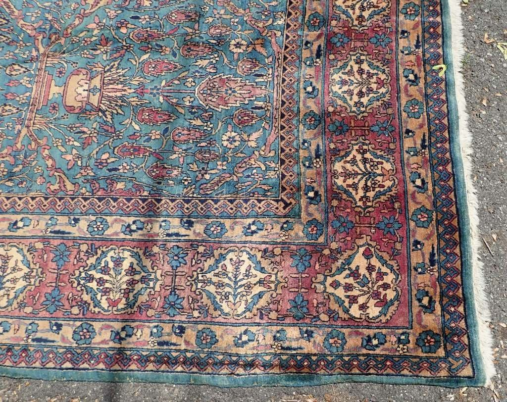 Palace Size Silk Carpet - 8