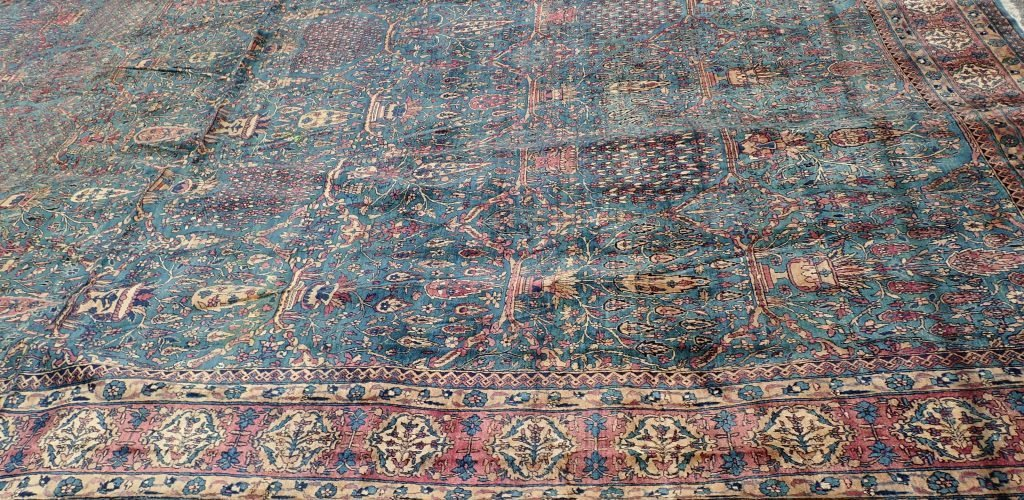 Palace Size Silk Carpet - 9