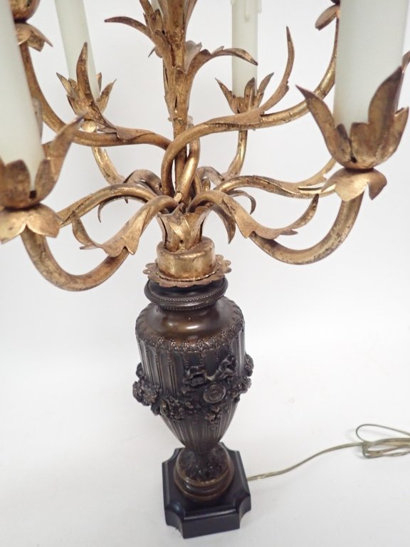 Candelabra Lamp Pair - 5