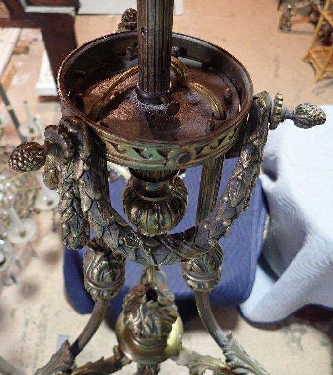 Louis XVI Style Bronze Chandelier - 9