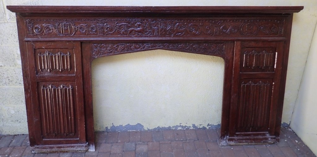 Large Renaissance Revival Fireplace Surround