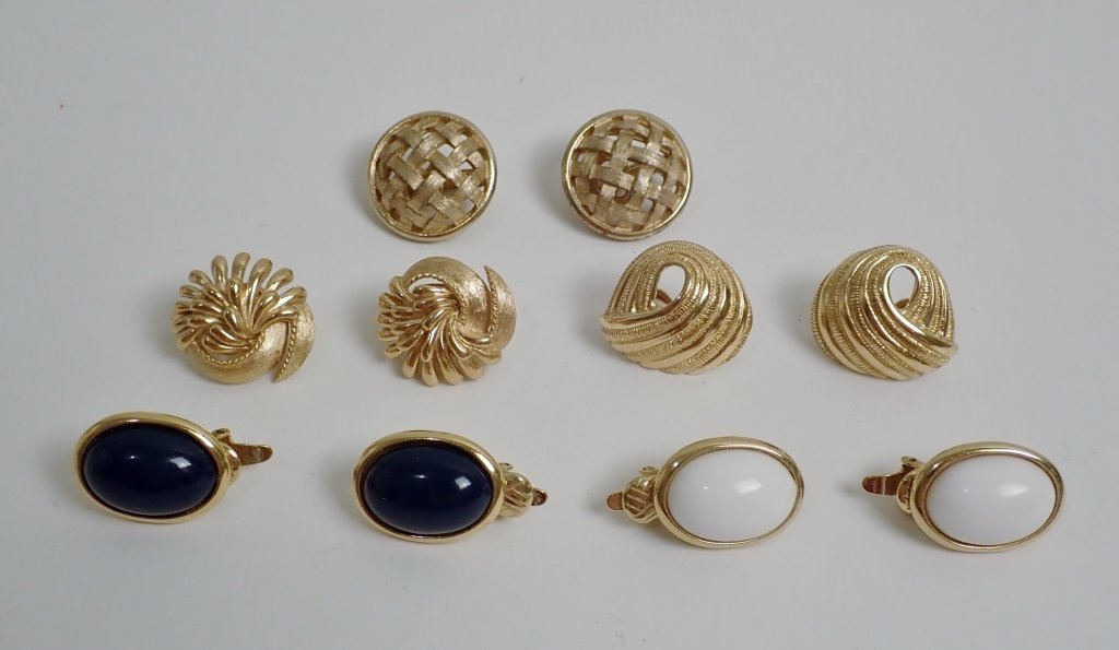 Vintage Trifari Earring Assortment