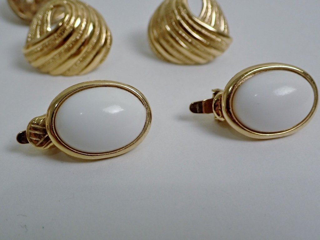 Vintage Trifari Earring Assortment - 2
