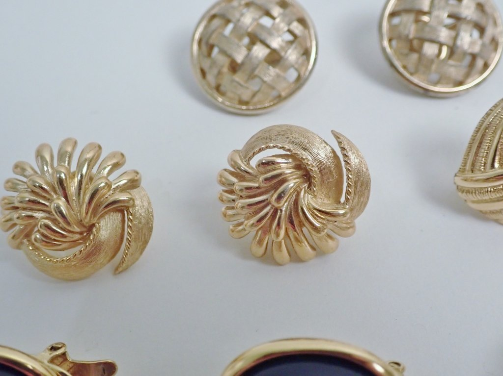 Vintage Trifari Earring Assortment - 6