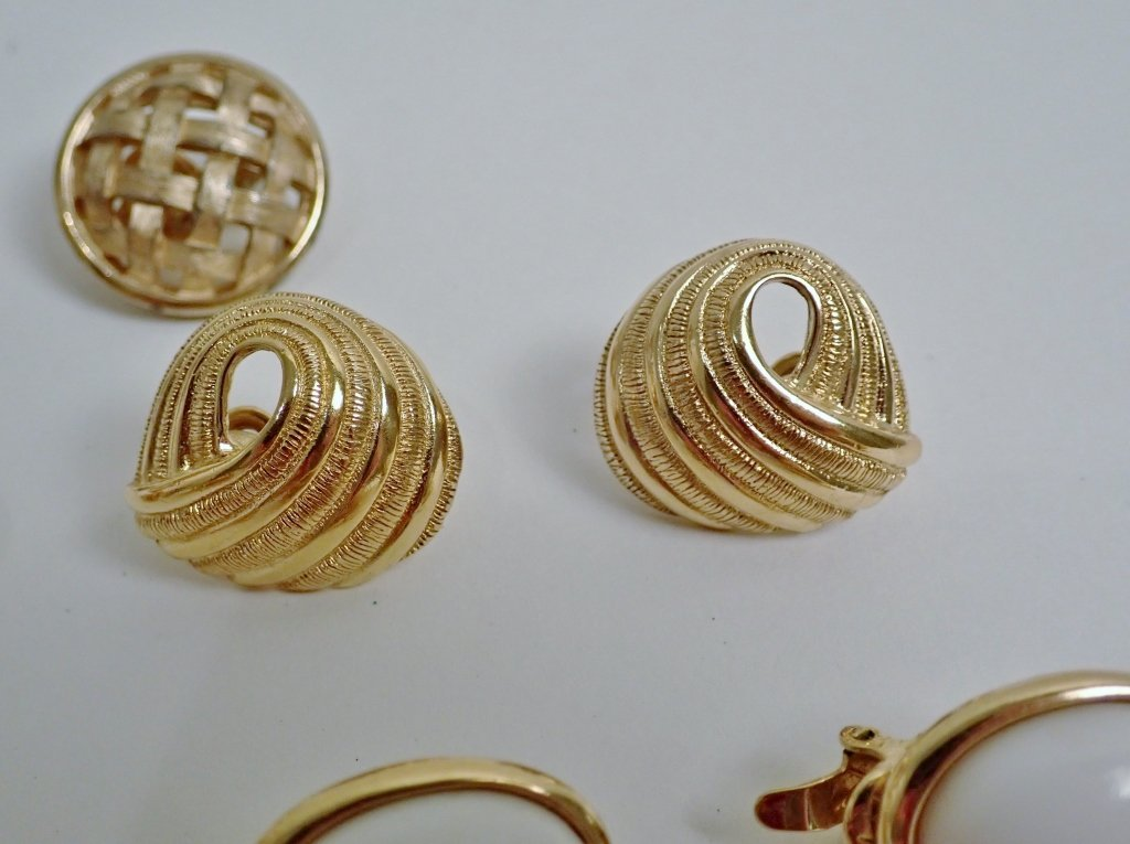 Vintage Trifari Earring Assortment - 8