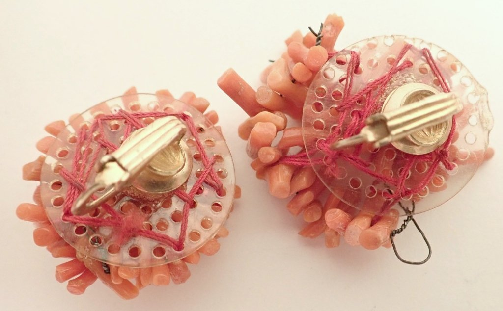 Vintage Coral Jewelry Assortment - 4