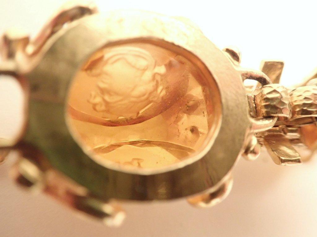 Vintage Amber Bracelet & Earring Set - 7