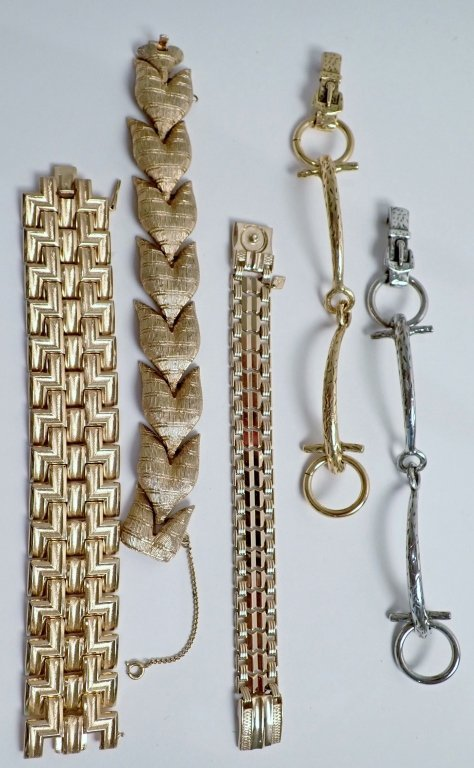 Collection of 5 Fashion Bracelets