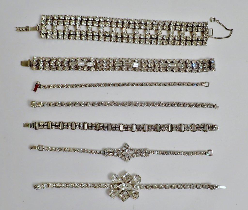 Collection of Faux Diamond CZ Bracelets
