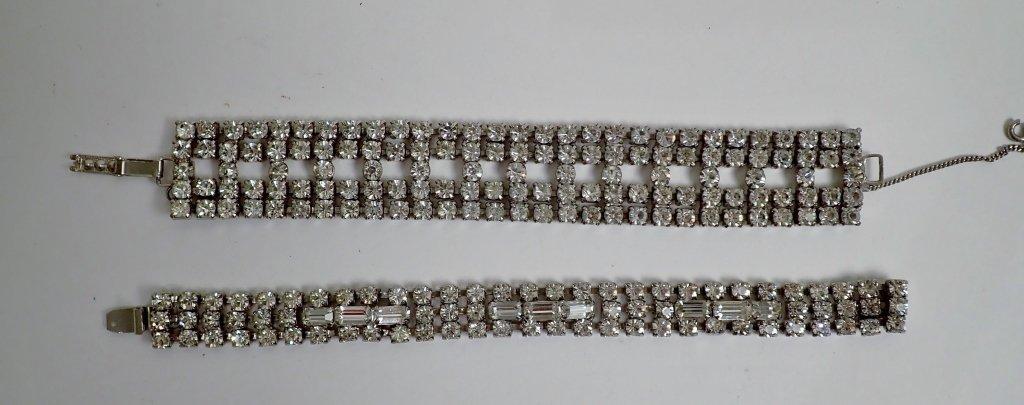 Collection of Faux Diamond CZ Bracelets - 9