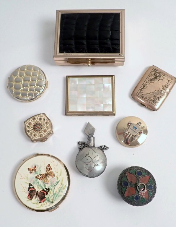 Collection of Boxes & Compacts