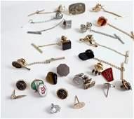Vintage Tie Tack Collection